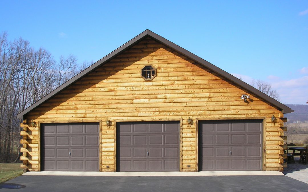Log Cabin Garage