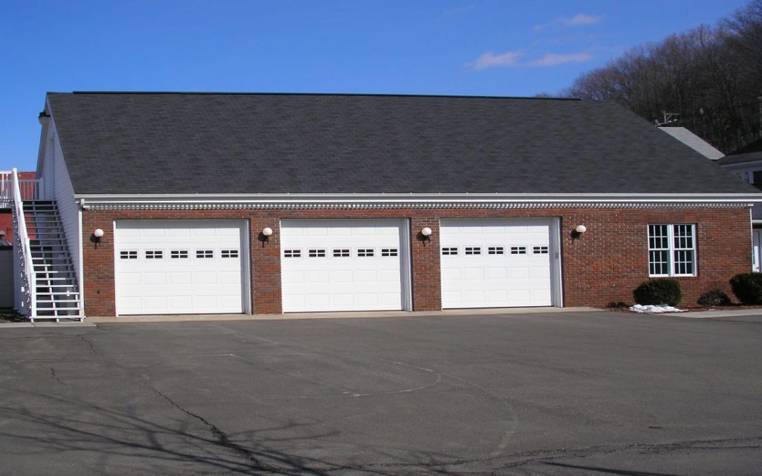 Custom Three Car Brick Garage